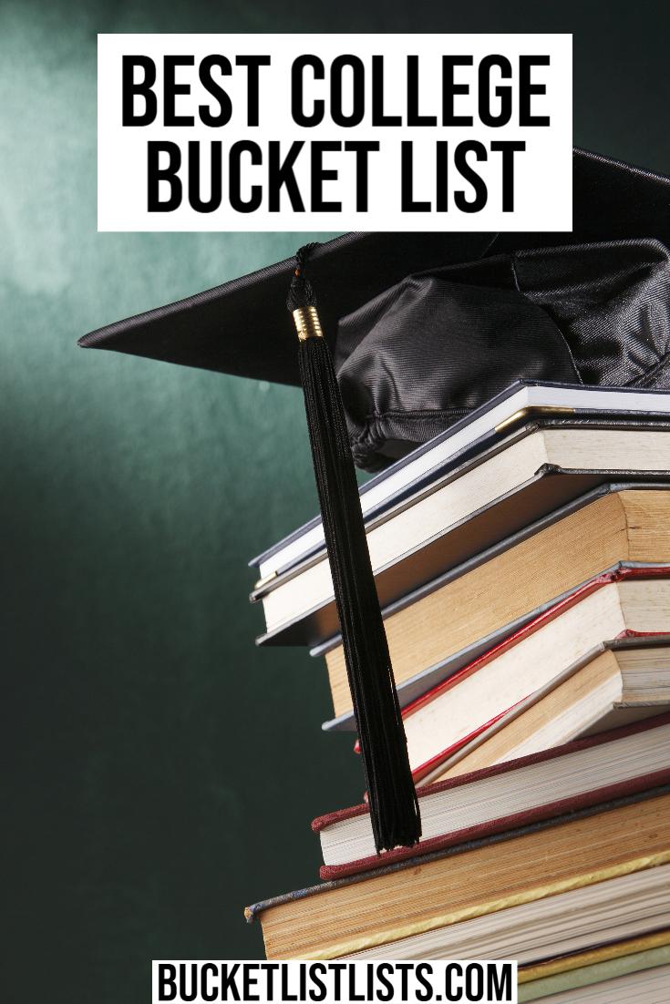 college bucket list