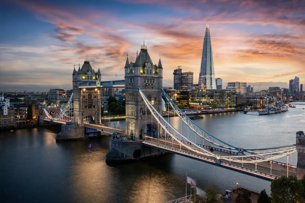 london bucket list