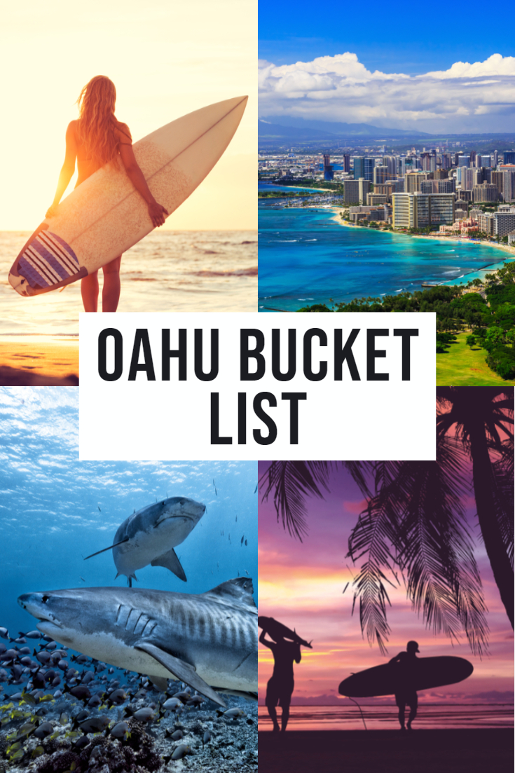 oahu bucket list
