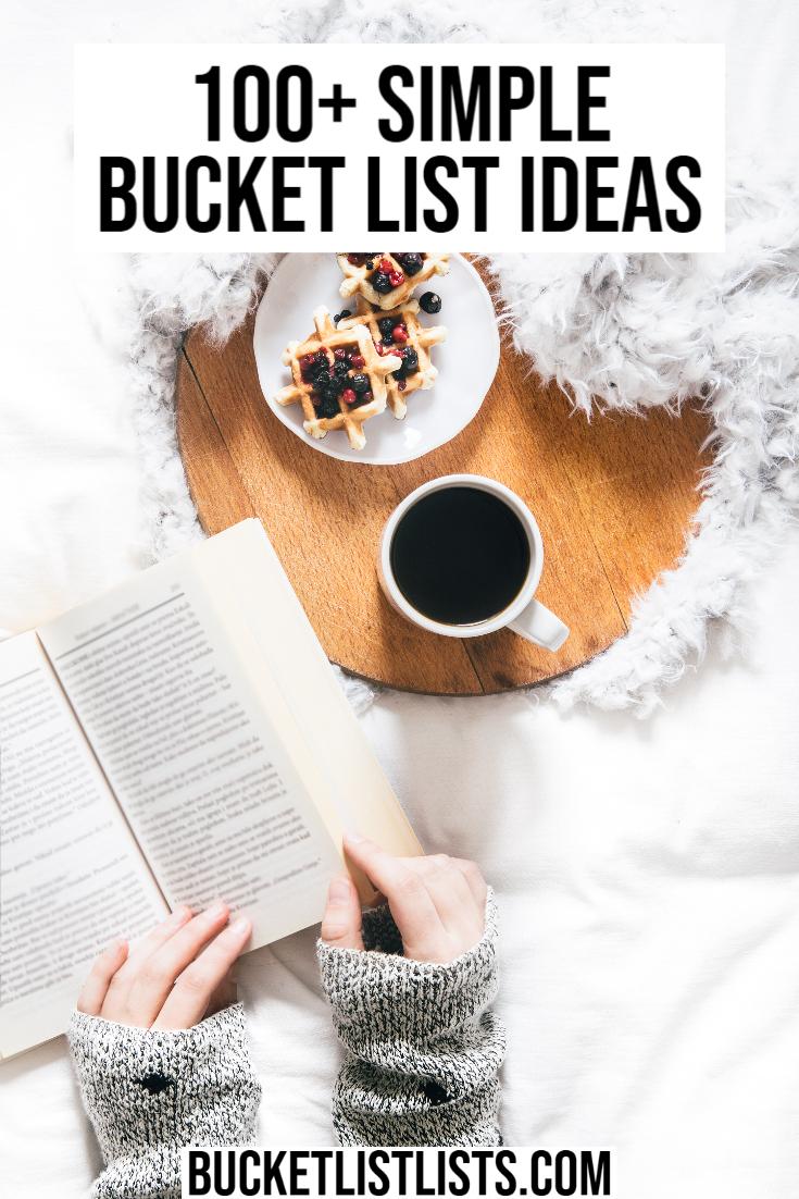 simple bucket list ideas