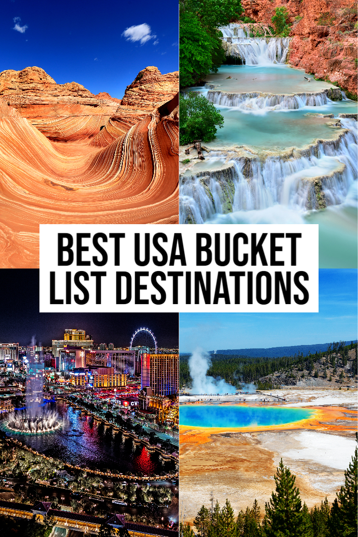 Usa Bucket List Destinations And Experiences That Are A Must