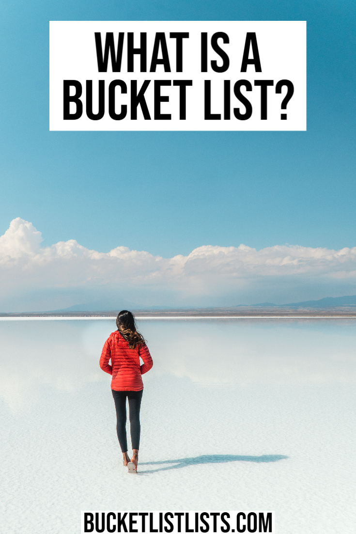 what is a bucket list