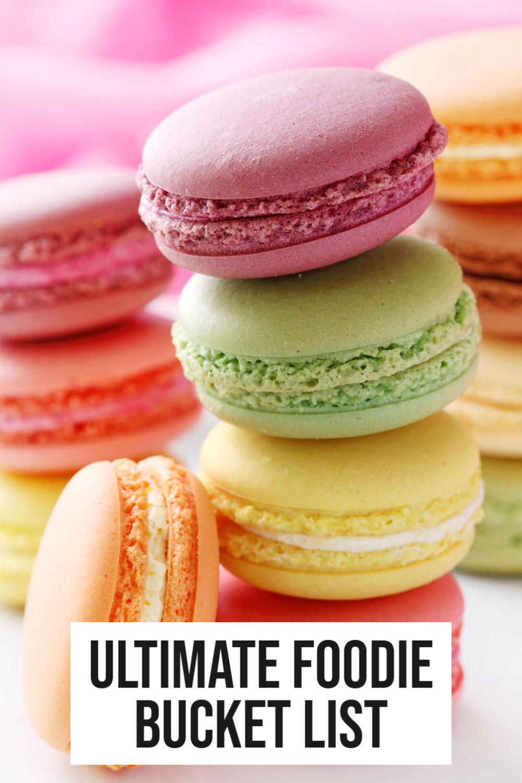ultimate food bucket list