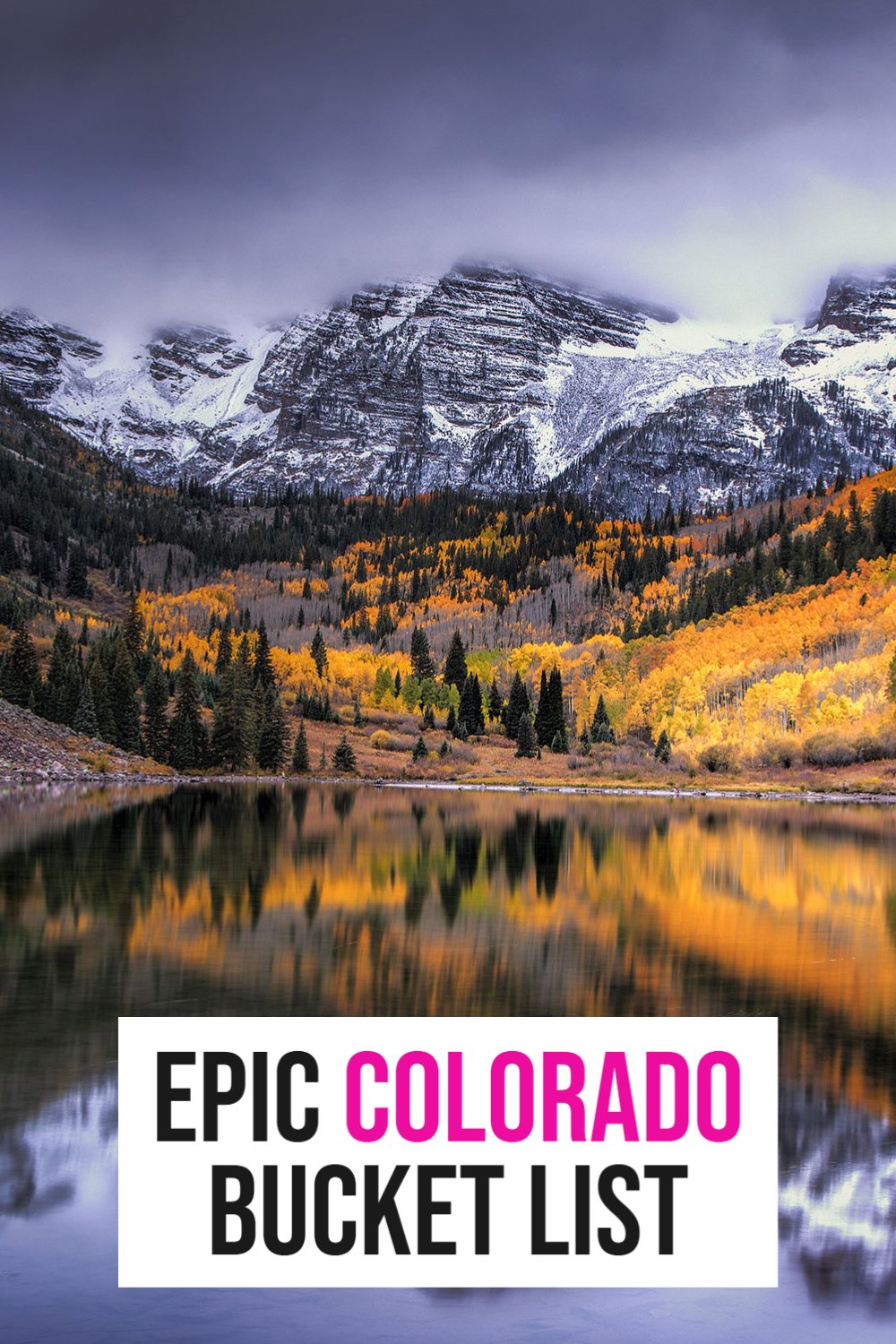 colorado bucket list
