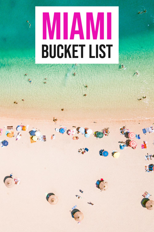miami bucket list